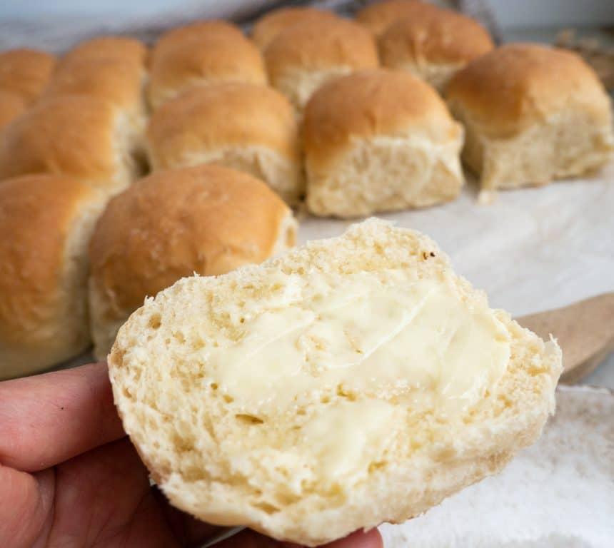 hveder med smør