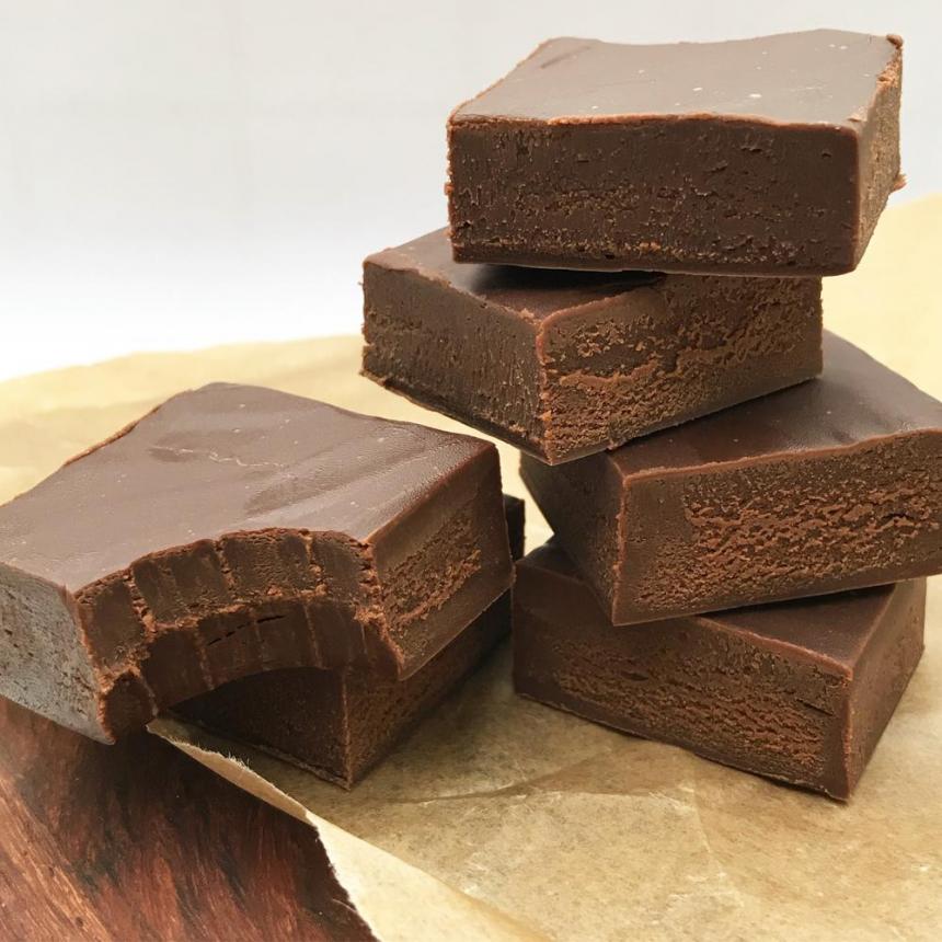 Chokolade fudge