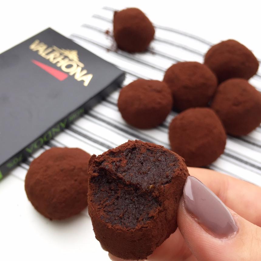 Sundere chokoladetrøfler – Kun 3 ingredienser