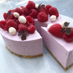 Cheesecake med bær