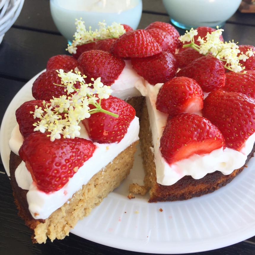 Sundere jordbærtærte – Den bedste opskrift