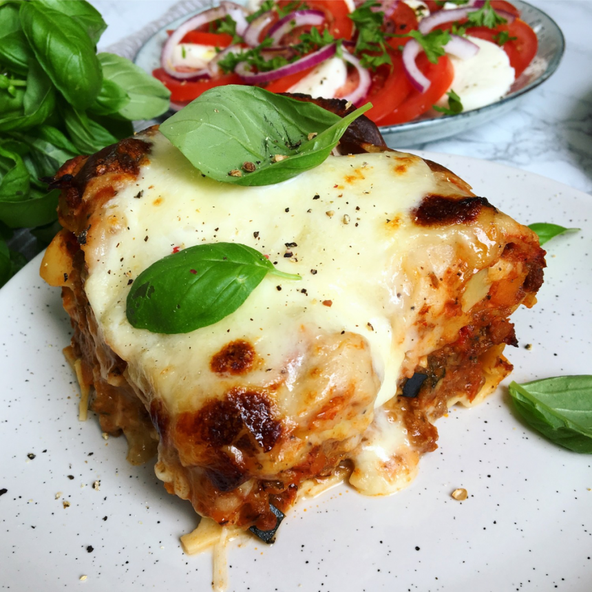 Lasagne – Den bedste hjemmelavet lasagne