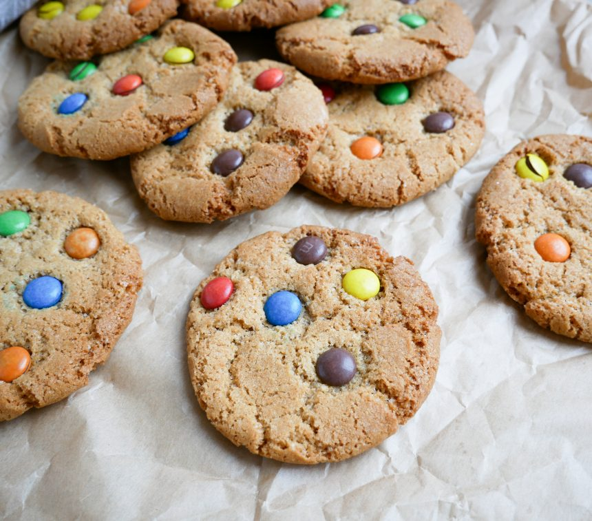 cookies med smarties