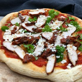 kylling pizza