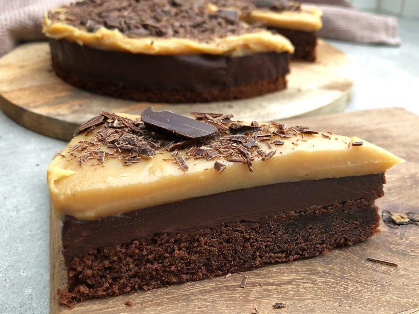 chokoladekage med trøffel