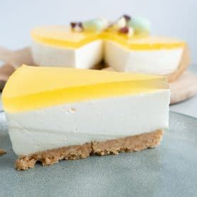 Opskrift på cheesecake med citrongele