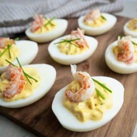 Nem opskrift på djævleæg (Deviled Eggs)