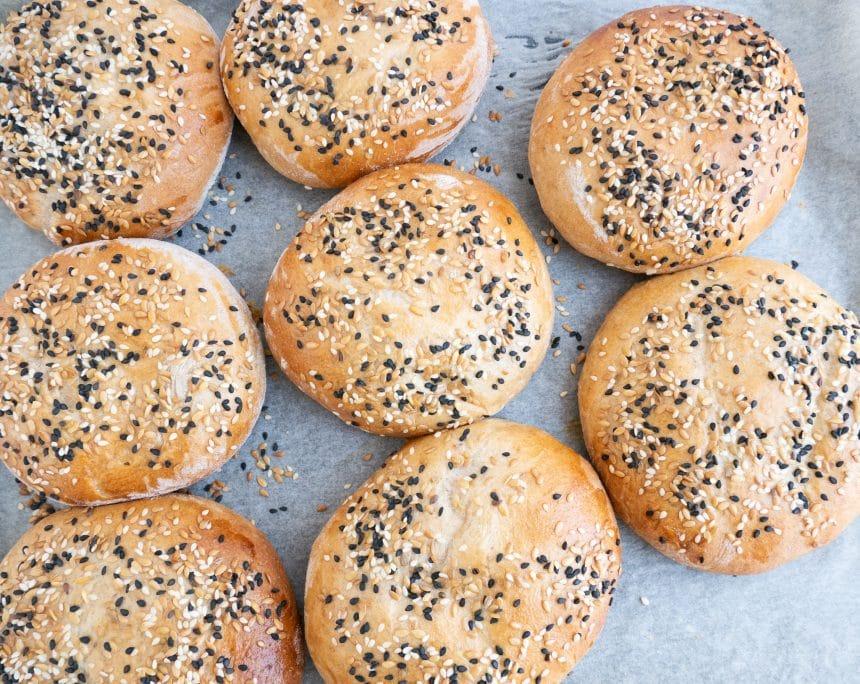 Opskrift på de bedste grove sandwichboller