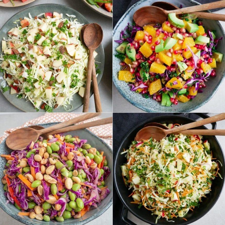 5 Nemme salater med kål
