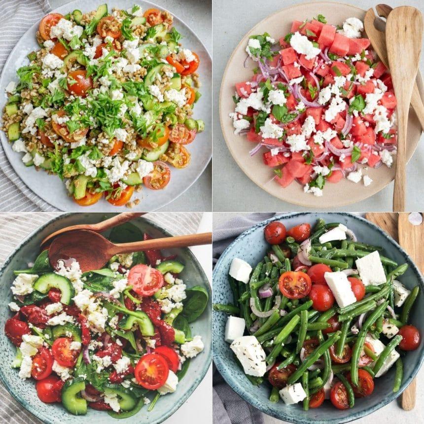 5 Sommersalater med feta