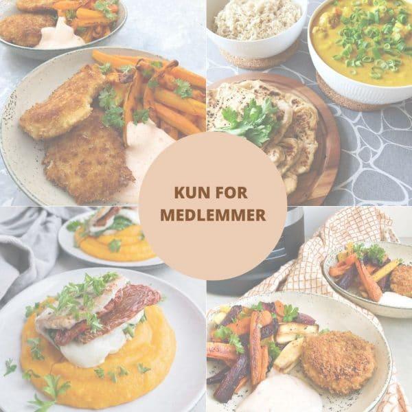 Sund madplan for uge 28 for medlemmer