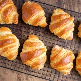de bedste hjemmelavede croissanter