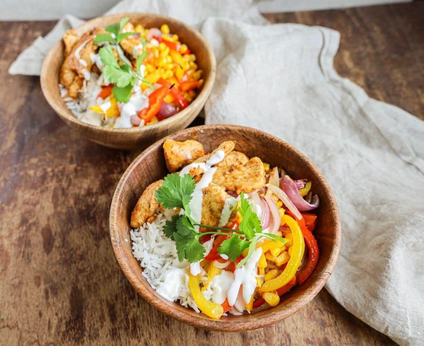 Sund, mexicansk aftensmad med kylling