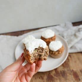Opskrift på sunde squashmuffins