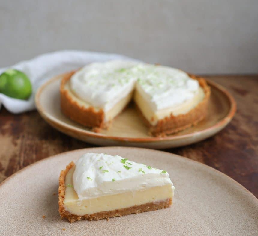 Opskrift på Key Lime pie