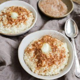 Opskrift på vegansk risengrød