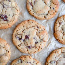 Opskrift på cookies med hvid chokolade