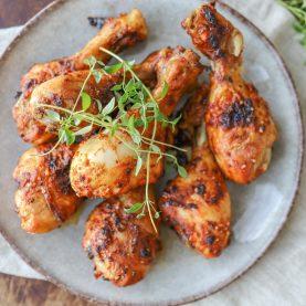Kyllingelår med barbequemarinade
