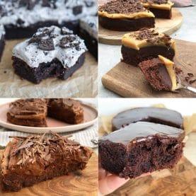 Desserter med chokolade