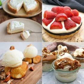 Desserter med få ingredienser