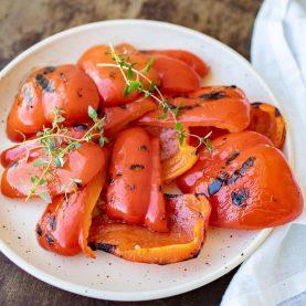 Opskrift på grillet peberfrugt