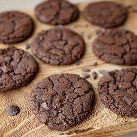 Opskrift på chokoladecookies