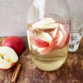 Opskrift på æblesnaps