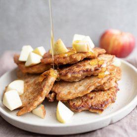Æblepandekager