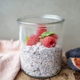 Overnight oats med bær